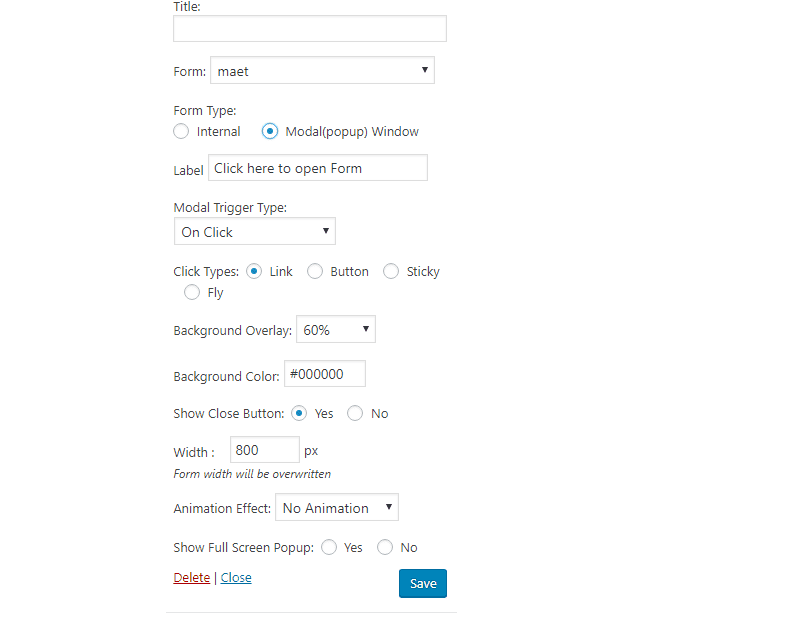 eb3f511ae Here, also you can give all possible style to your form that will reside as  widget in our page.