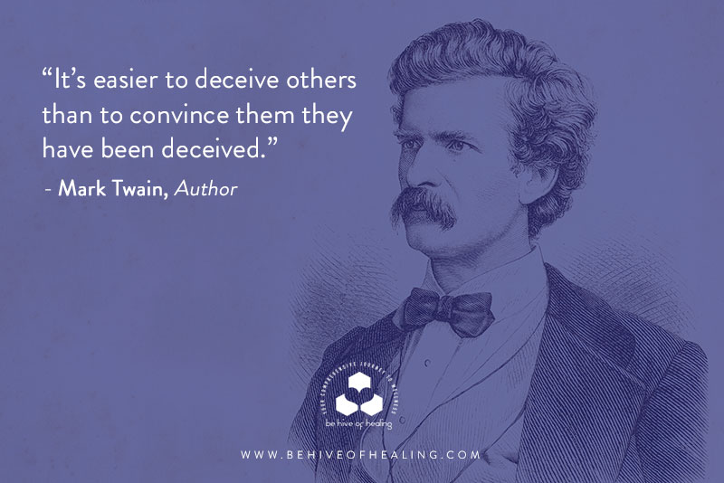 Inspirational Quote by Mark Twain for the L.I.G.H.T.