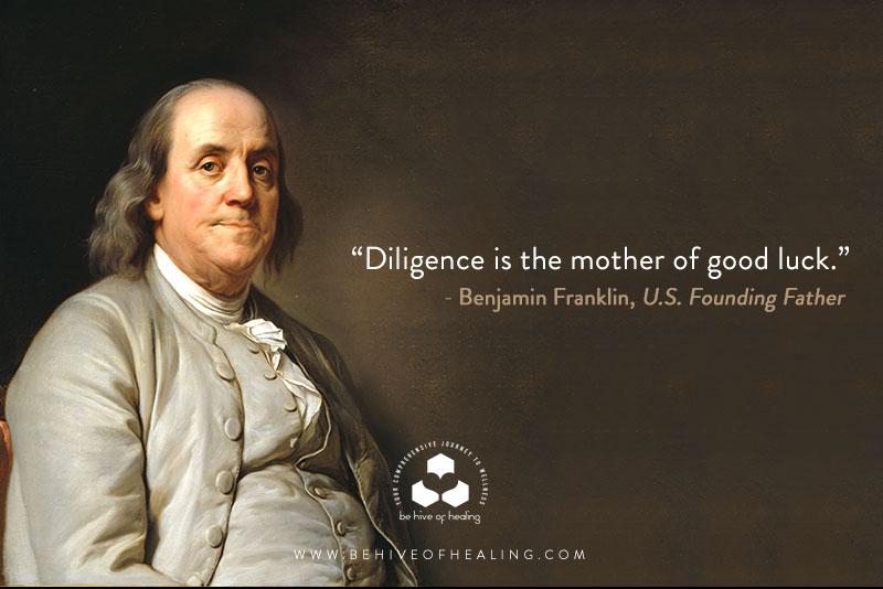 Meditation Minute with Benjamin Franklin