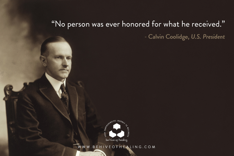 Meditation Minute with Calvin Coolidge