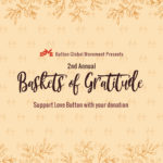 Volunteers for Love Button's Baskets Of Gratitude