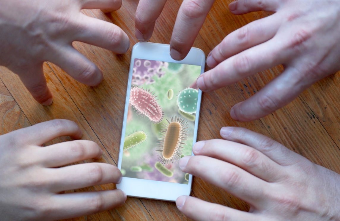 What's on your phone? Probably more germs than apps