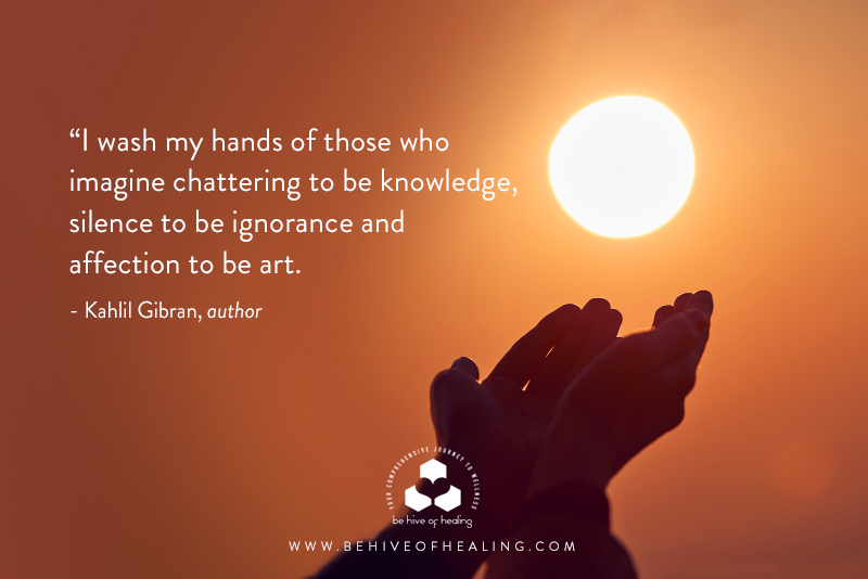 Meditation Moment from Kahlil Gibran